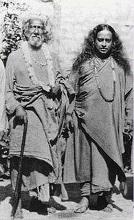 Sri Yukteswar [Guru] and Paramahansa Yogananda