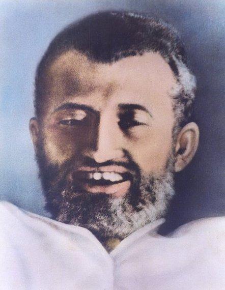 Sri Ramakrishna in samadhi