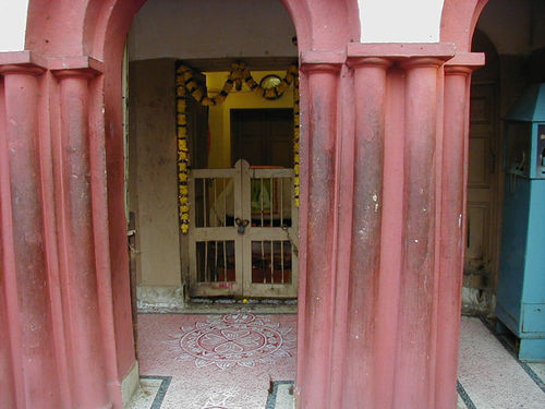 Sri Sarada Dev's little room in the Nahabat