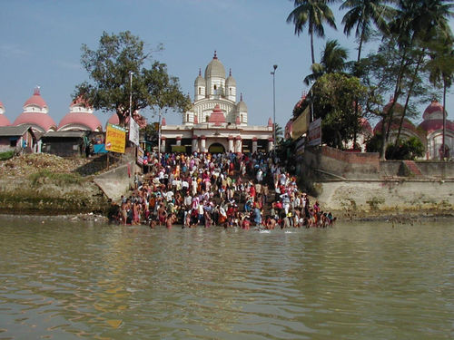 Bathing Ghat at Dakshineswar Kali Temple