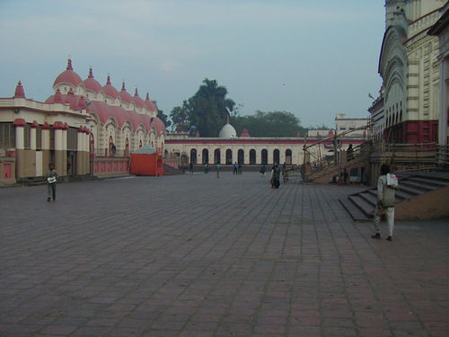 Kali Temple Courtyard looking northwards towards Sri Ramakrishna's room