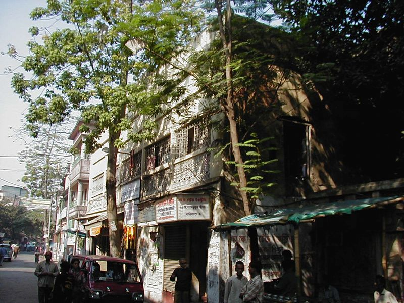 The Shyampukur house in Calcutta where Ramakrishna lived for 70 days between leaving Dakshineswar and moving to Cossipore