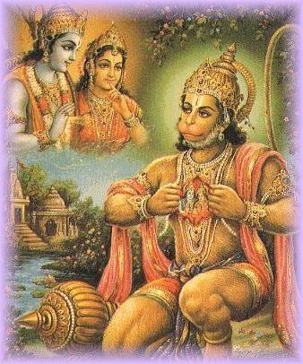 Hanuman heart 2