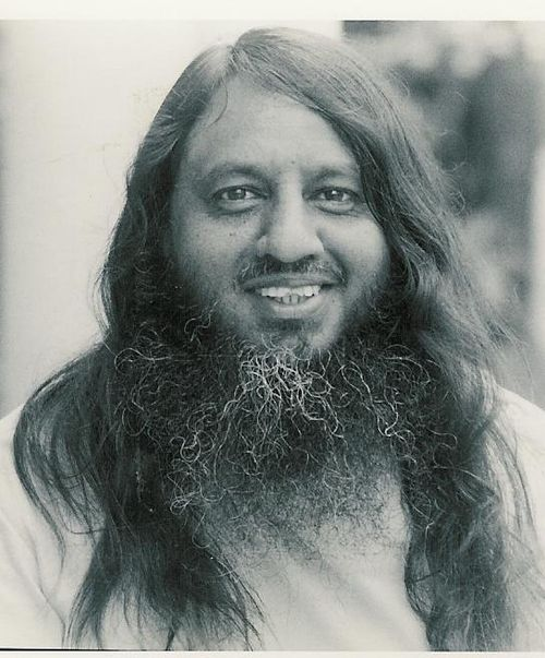 A youthful Swami Shivapadananda - 1972 lo res