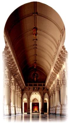 Belur shrine to Sri Ramakrishna