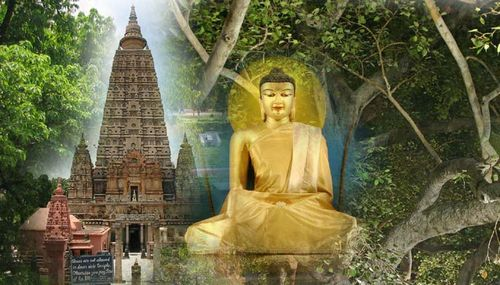 Bodh Gaya Maha Bodhi temple