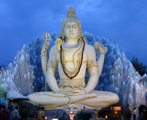 Shiva Bangalore monument
