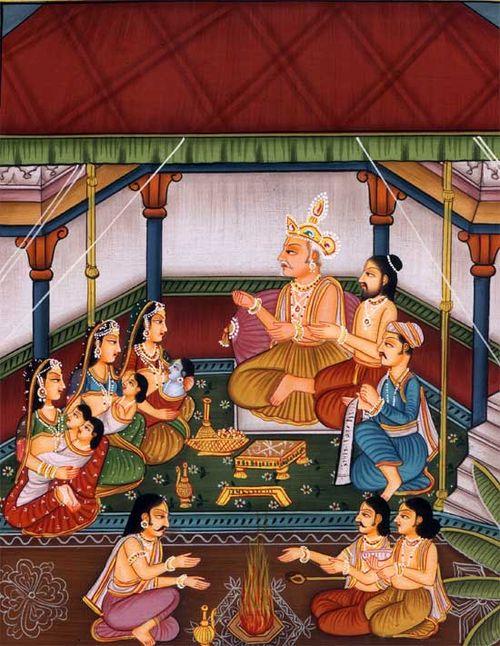 King Dasaratha