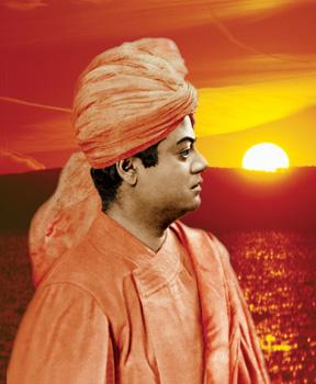Swami Vivekananda sunset pic