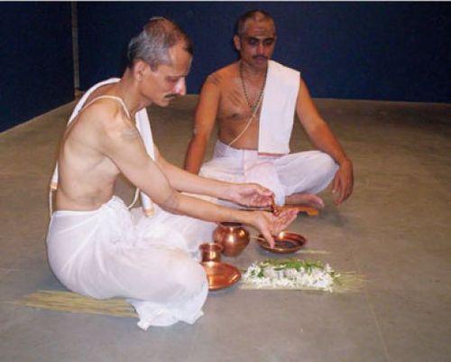 Shraadha ceremony