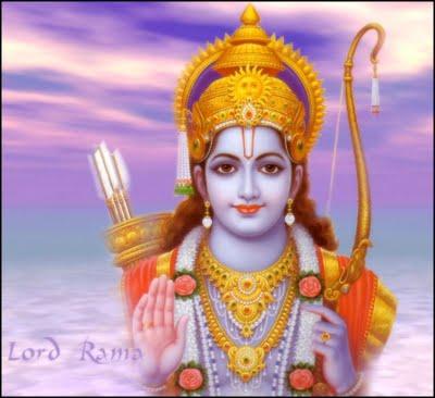 Rama as youth