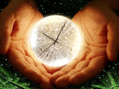 Clock time in your own hands