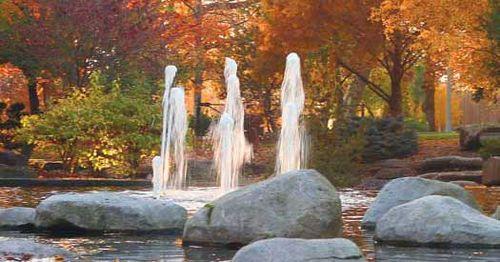 Spiritual fountains