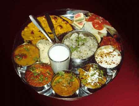 Sraad ceremony food offering