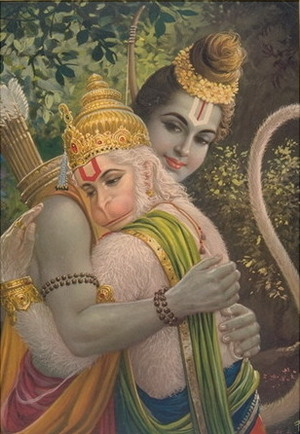 Hanuman_being_embraced_by_lord_rama